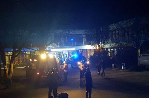 Feuer im Chemiesaal verursacht  Hunderttausende Euro Schaden