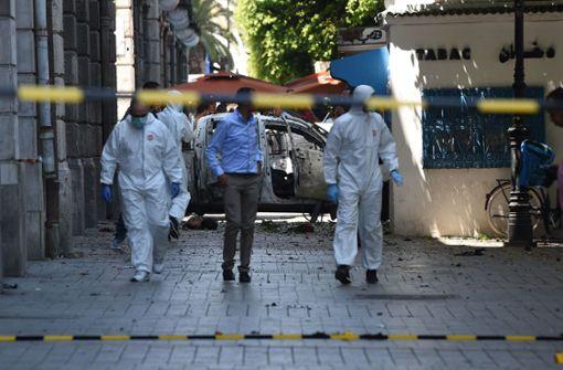Mindestens neun Verletzte bei Anschlägen auf Sicherheitskräfte