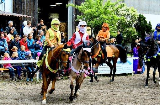 Reiter und Gaukler im Rausch des Mittelalters