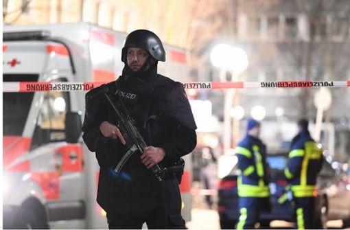 Erhöhte Polizeipräsenz nach Hanau-Anschlag