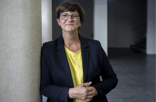 Von der Quereinsteigerin zur SPD-Spitzenkandidatin