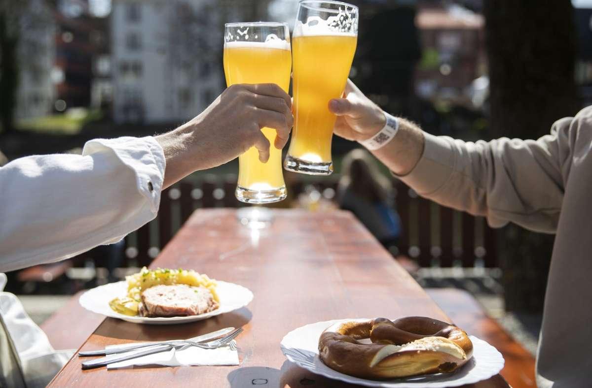 In Thüringen sollen die Biergärten bald wieder öffnen. Foto: dpa/Tom Weller