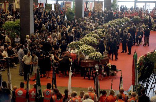 Viele Angehörige boykottieren staatliche Trauerfeier