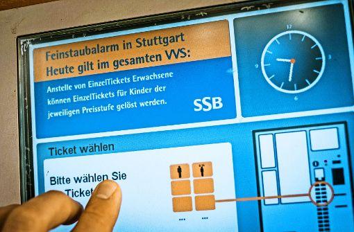 Bald nur noch eine Zone in Stuttgart?