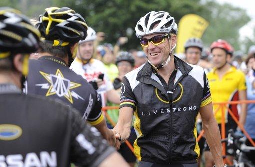 Lance Armstrong ist auch in seiner Heimatstadt Austin umstritten. Foto: FR37962 AP