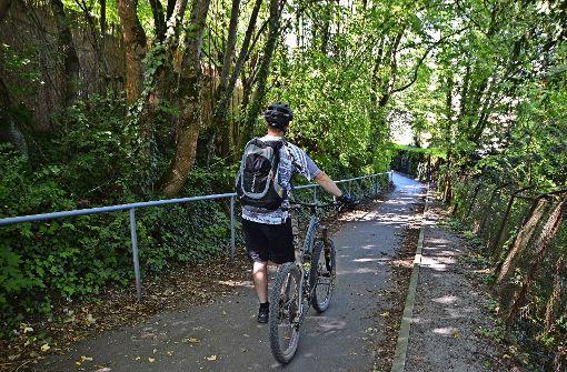 Radfahrer missachten das Durchfahrverbot