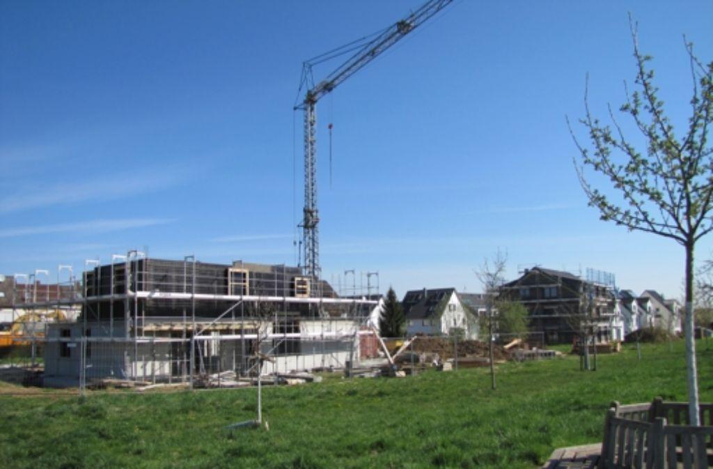 Das Gebiet Schießhausäcker in Plieningen wird bereits bebaut. Foto: