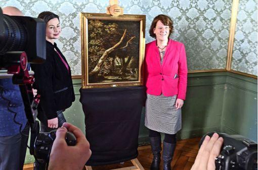 Geraubtes Gemälde kommt zurück ins  Schloss