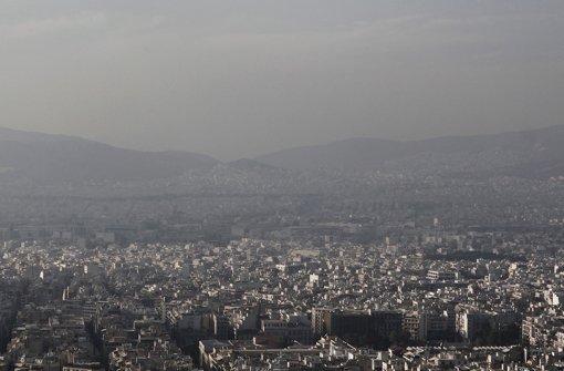 Dicke Luft in Griechenland