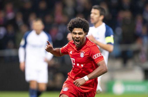Die Bayern wenden eine Blamage im Pokal ab