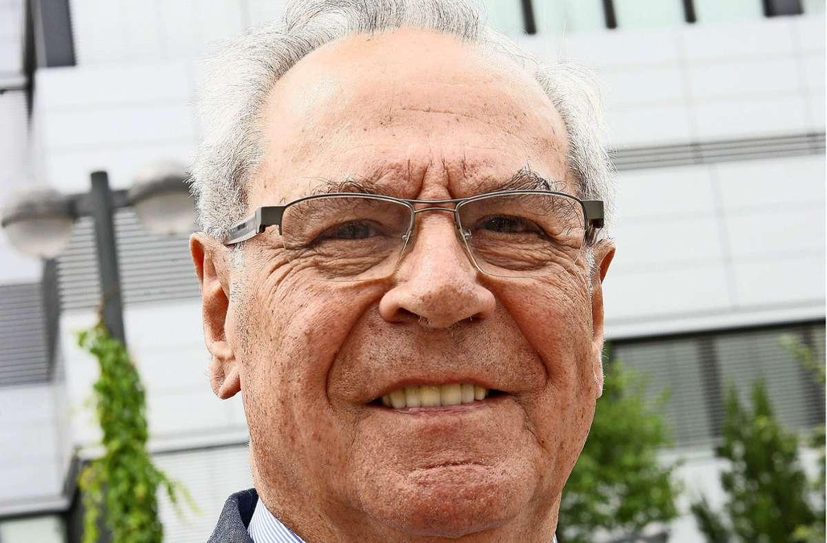 """Professor Heinz Griesinger arbeitete bei Bosch und entwickelte zusammen mit Daimler das """"Stuttgarter Modell"""", der heutigen Dualen Hochschule Baden-Württemberg. Foto: Kraufmann (Archiv)"""