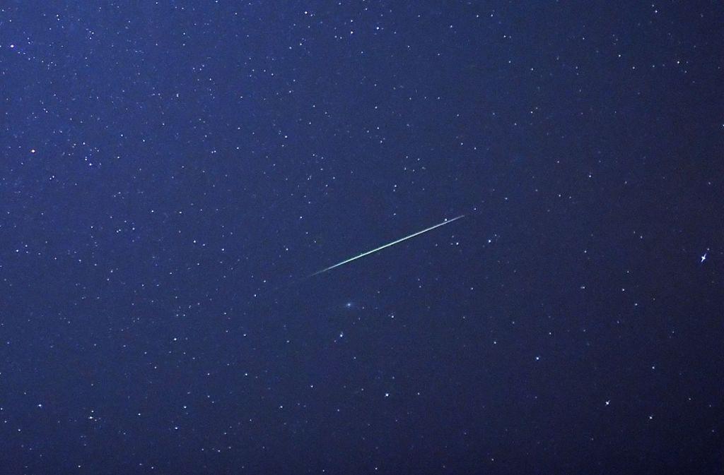 Die Perseiden kommen: In der ersten Augusthälfte sind besonders viele Sternschnuppen zu beobachten. Foto: dpa