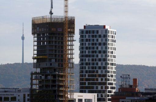 """Hochhaus überflügelt bereits """"Konkurrenten"""" aus der Nachbarschaft"""