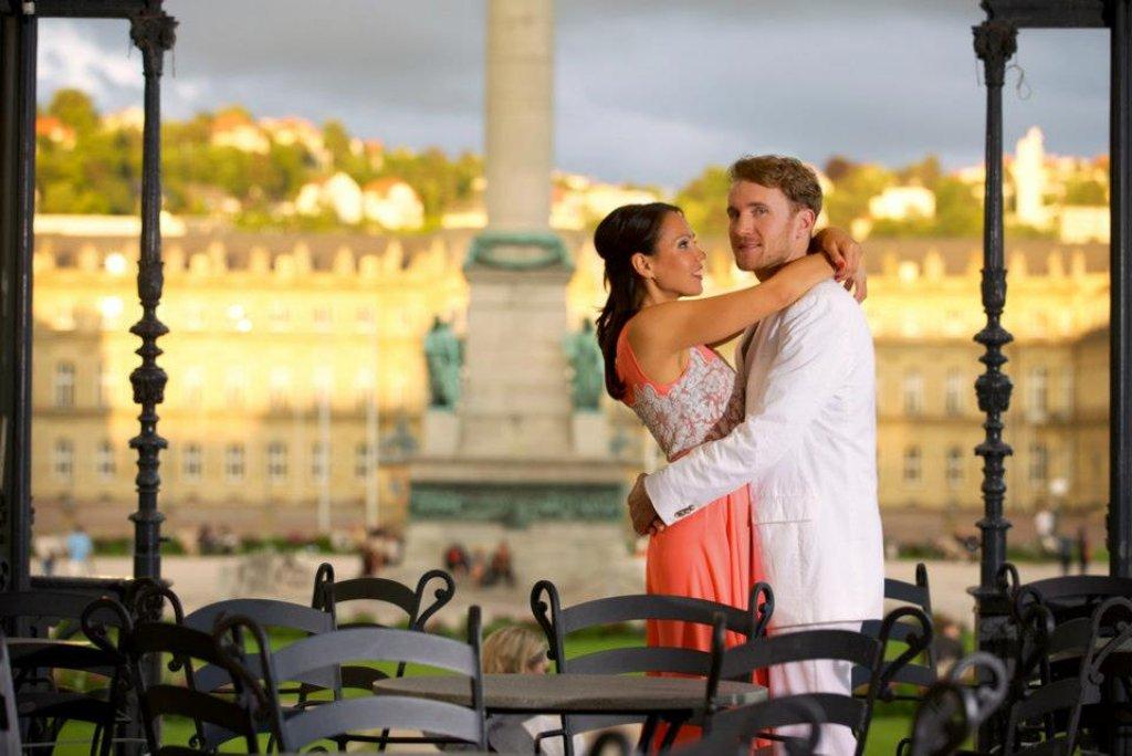 Jenny Winkler und Patrik Schmitt sind zum zweiten Mal das Stuttgarter Fasching-Stadtprinzenpaar - und nun wollen sie als Sofie & Rik in der Musikbranche groß rauskommen. Für das ... Foto: Jens Kilian