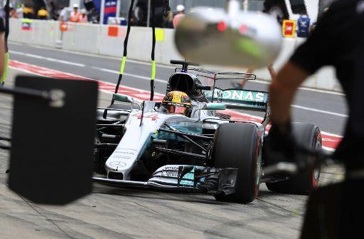 Lewis Hamilton in Suzuka erstmals auf der Pole
