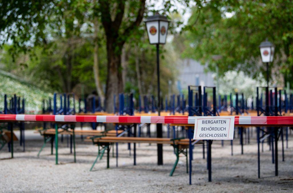 Die Gastronomie leidet sehr unter der aktuellen Pandemie. (Symbolbild) Foto: dpa/Sven Hoppe