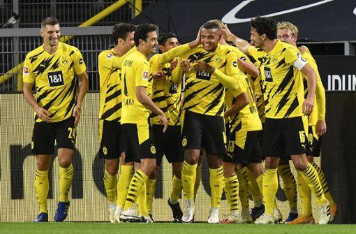 BVB betreibt Wiedergutmachung: 3:0 im Derby über Schalke