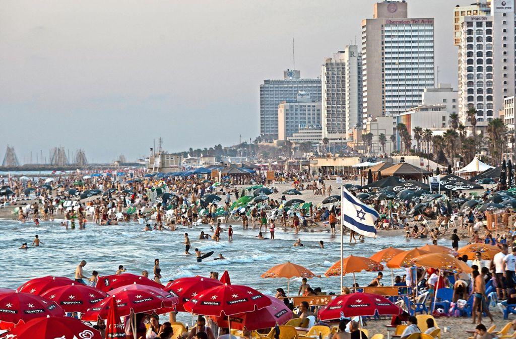 Tel Aviv ist eine der größten und dynamischsten Start-up-Metropolen der Welt. Foto: AP