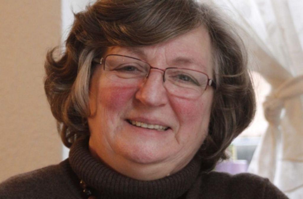 Sibylle Wallburg unterstützt Mukoviszidose-Patienten. Foto: Isabelle Butschek