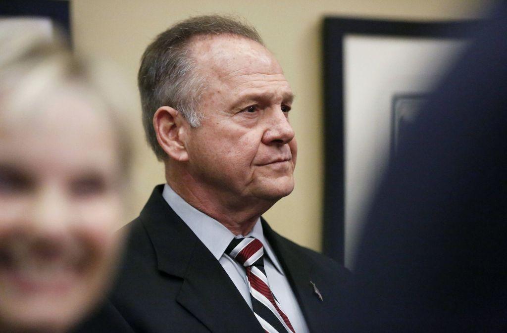 Der US-Republikaner Roy Moore wird öffentlich beschuldigt, mehrere Frauen sexuell belästigt zu haben. Foto: AP