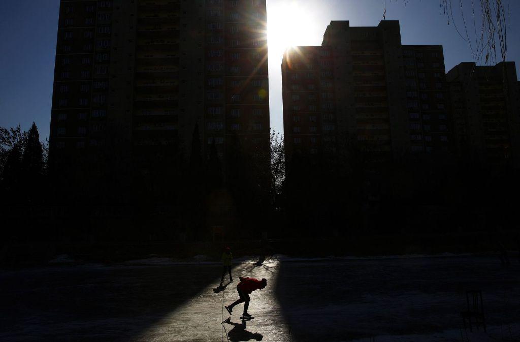 In Peking gibt es auch feinstaubfreie Tage. Foto: EPA