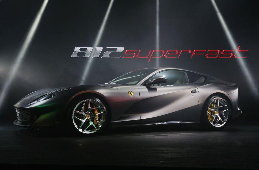 Objekt der Begierde: Der neue Ferrari 812. Foto: Getty Images AsiaPac
