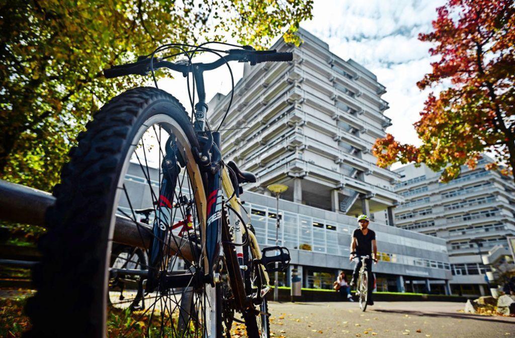 Die Uni Stuttgart hatte sich im Vorfeld von den Klimaleugnern distanziert. Foto: Lichtgut/Max Kovalenko