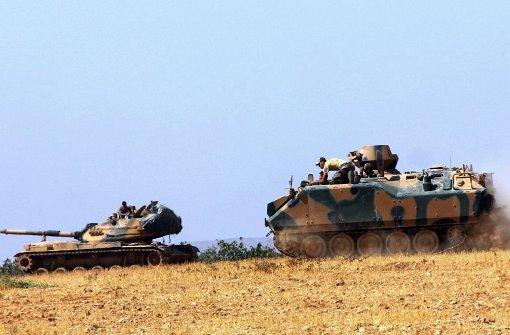 Türkischer Grenzort geräumt