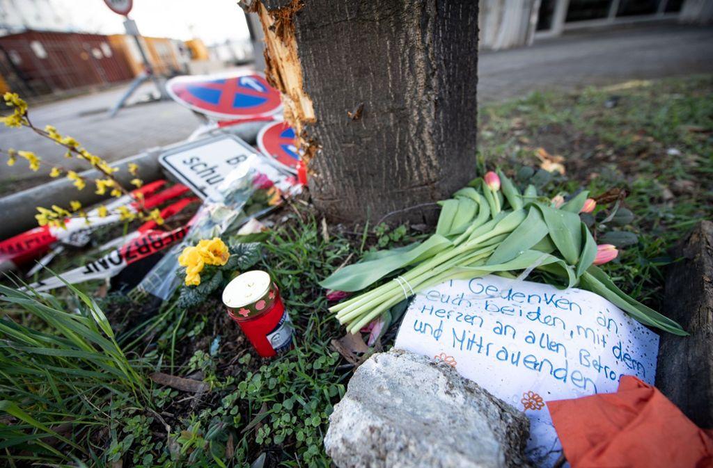 Der tödliche Unfall in der Rosensteinstraße hat große Betroffenheit ausgelöst. Foto: dpa