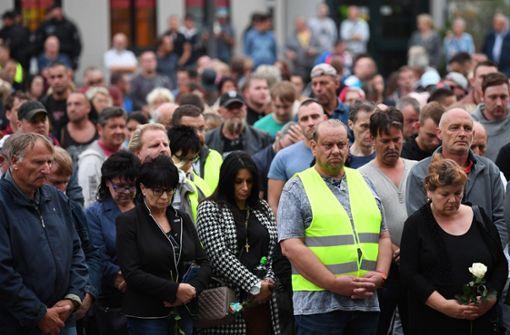 Mehrere hundert Menschen bei Kundgebung
