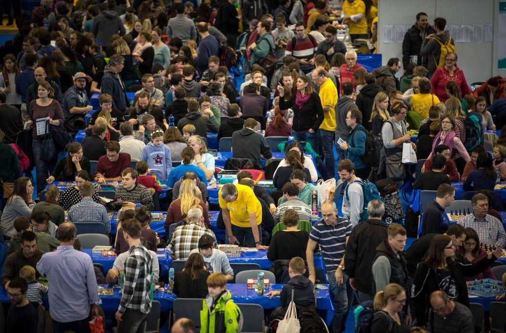 Teilweise wurde es am Wochenende auf der Landesmesse richtig eng. Foto: Lichtgut/Leif Piechowski