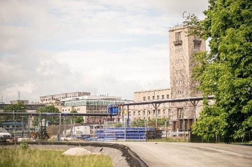 Der Hauptbahnhof im Mai