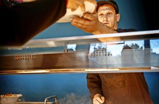 Täglich werden 1500 Essen frisch gekocht