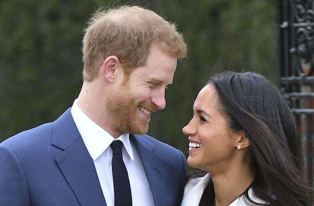 Love is in the Air: Prinz Harry und Meghan Markle werden im kommenden Frühjahr heiraten. Und Herzogin Kate bekommt dann eine Schwägerin. Foto: dpa