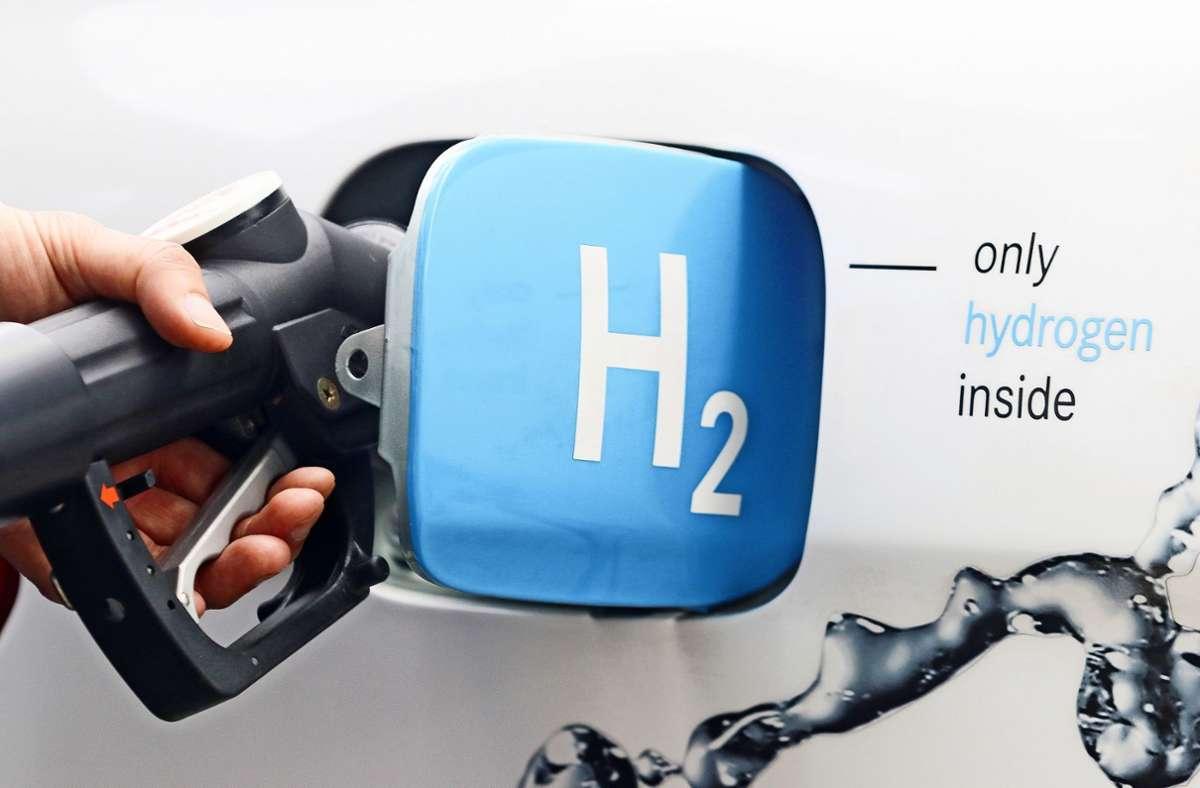Auf dem Waiblinger Hess-Areal  soll eine Tankstelle mit selbst erzeugtem Wasserstoff eingerichtet werden. Foto: factum/Granville