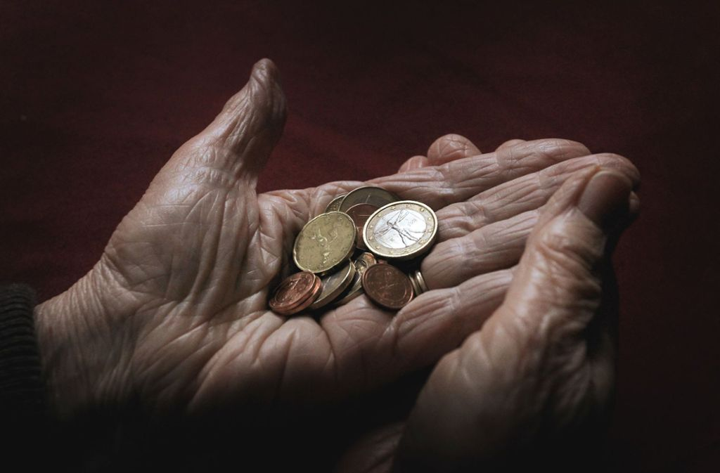 Noch ist Altersarmut in Deutschland wenig verbreitet – doch die Angst davor wächst. Foto: dpa
