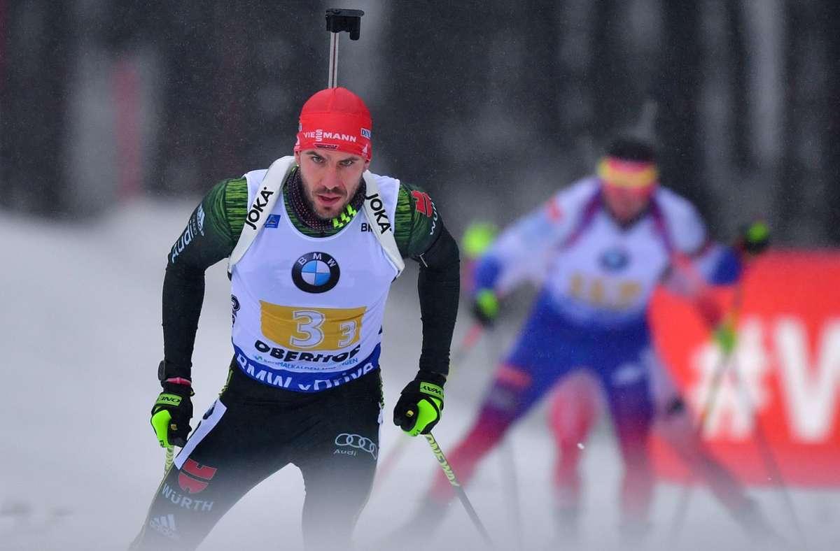 Arnd Peiffer beendet seine Karriere. Foto: dpa/Hendrik Schmidt