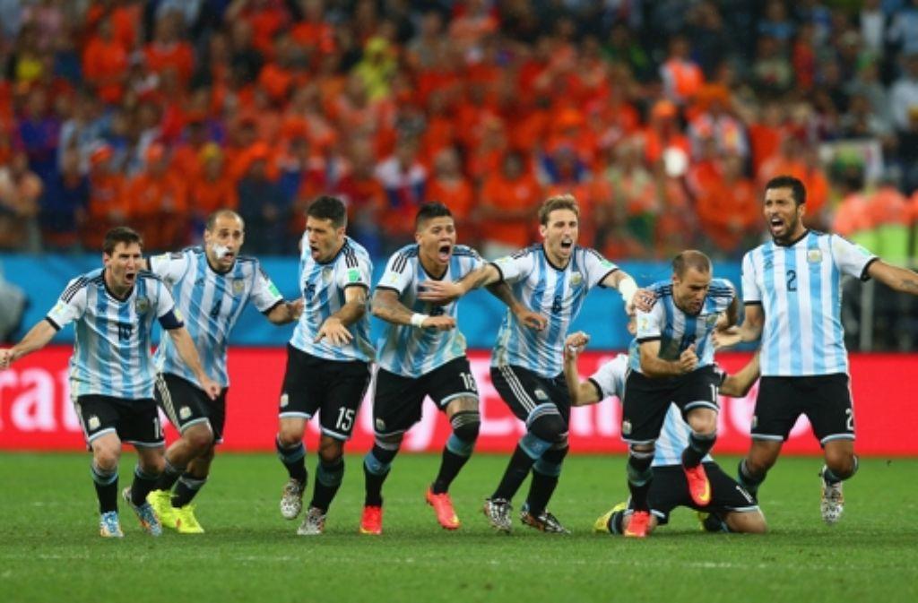 Argentinien Spieler