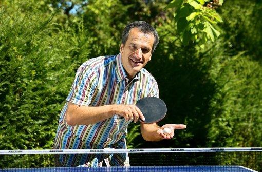 Tischtennis steht für Familiengespräche