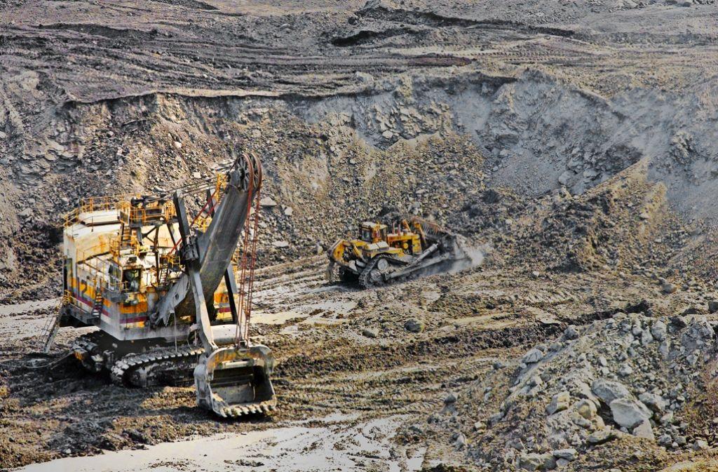 Kohleabbau in Kolumbien – von hier bezieht auch die EnBW den Brennstoff. Foto: laif