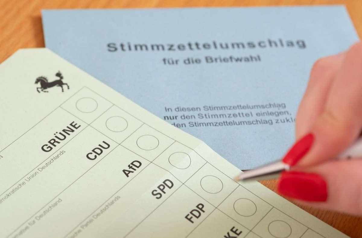 In diesem Beitrag zeigen wir die Ergebnisse der Landtagswahl in Stuttgart. Foto: dpa/Bernd Weissbrod