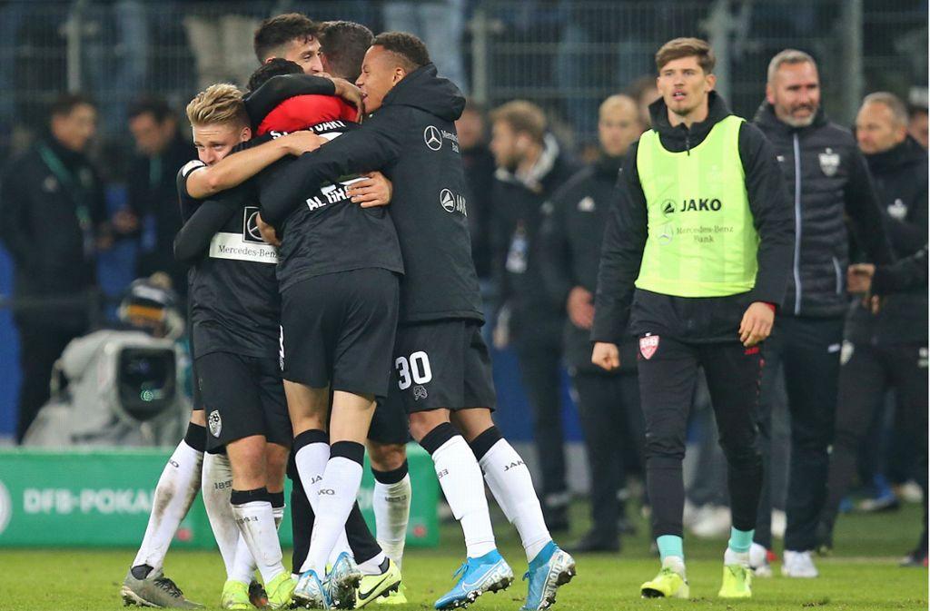 Der VfB hat dank einer Leistungssteigerung den Abwärtstrend vorerst gestoppt. Foto: Pressefoto Baumann/Cathrin Müller