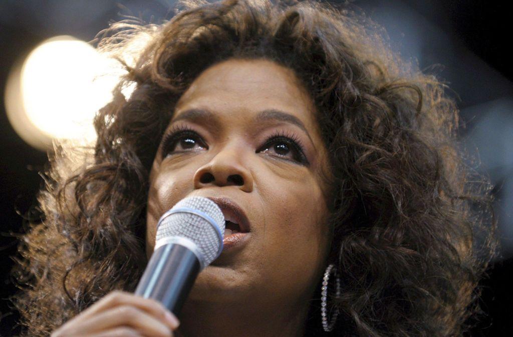 Beim TV-Star Oprah Winfrey fühlen sich die Fans geborgen und verstanden. Daraus erwachsen Macht und Einfluss.  Foto: dpa Foto: