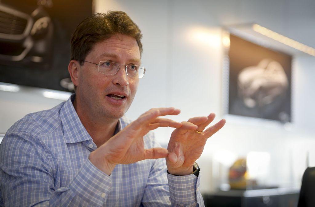Auf den künftigen  Konzernlenker Ola Källenius  warten große Herausforderungen. Foto: factum/Granville