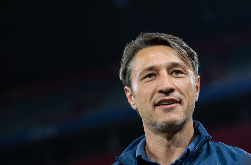 Gute Miene zum bösen Spiel: Trainer Niko Kovac Foto: dpa