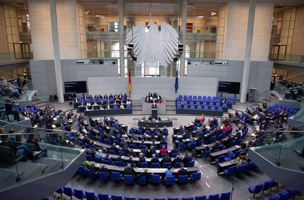 Der Bundestag verabschiedet an diesem Freitag das Migrationspaket. Foto: dpa