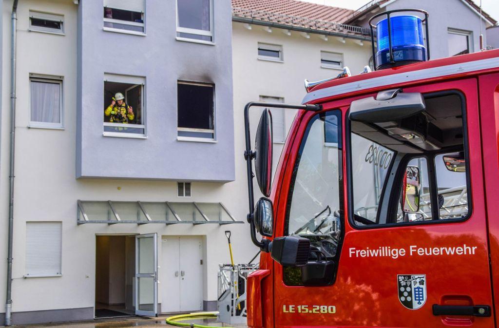 In einem Seniorenheim im Landkreis Karlsruhe hat es gebrannt. Foto: 7aktuell.de/ Eyb