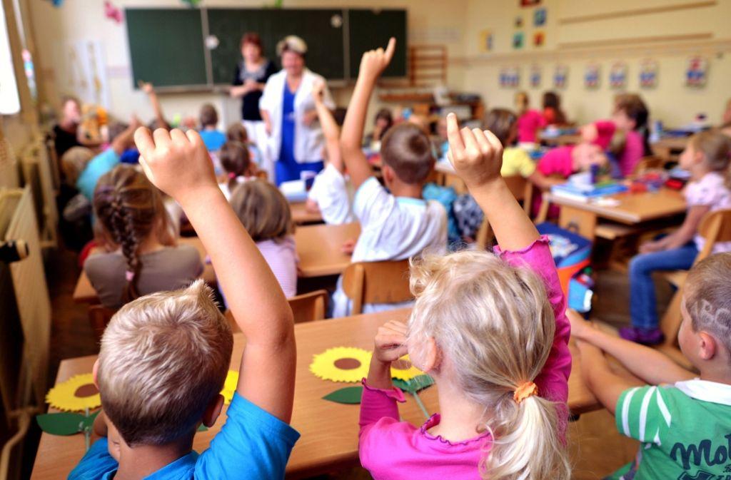 Die Ludwigsburger Grundschulen platzen aus allen Nähten, darum soll nun neu gebaut werden. Foto: dpa