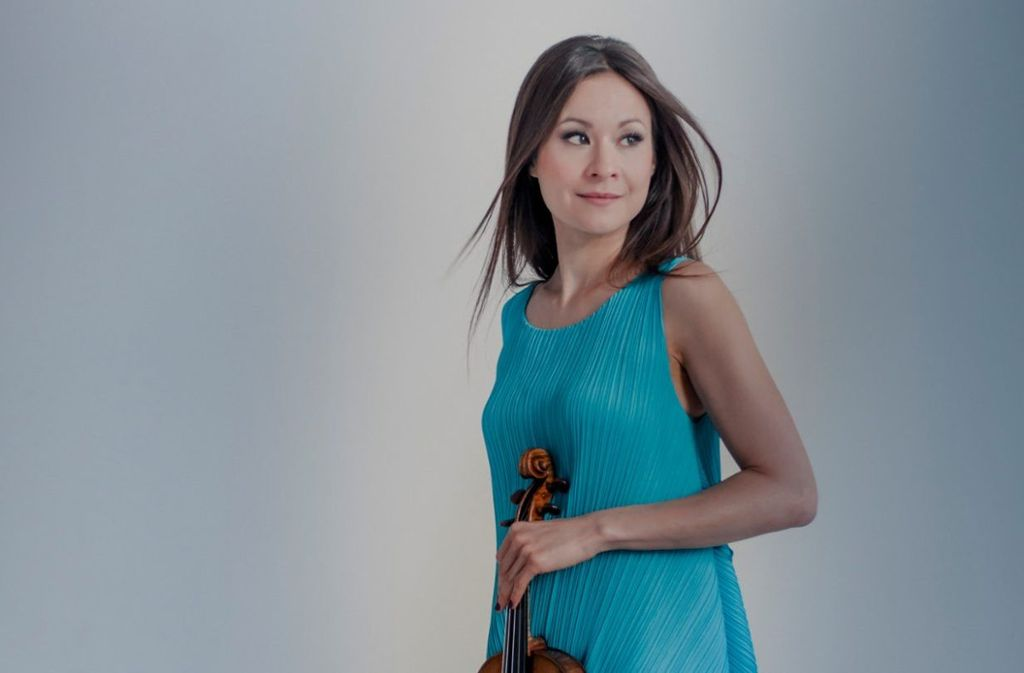 """Arabella Steinbacher spielt auf einer Stradivari namens """"Booth"""".  Foto: Sammy Hart"""