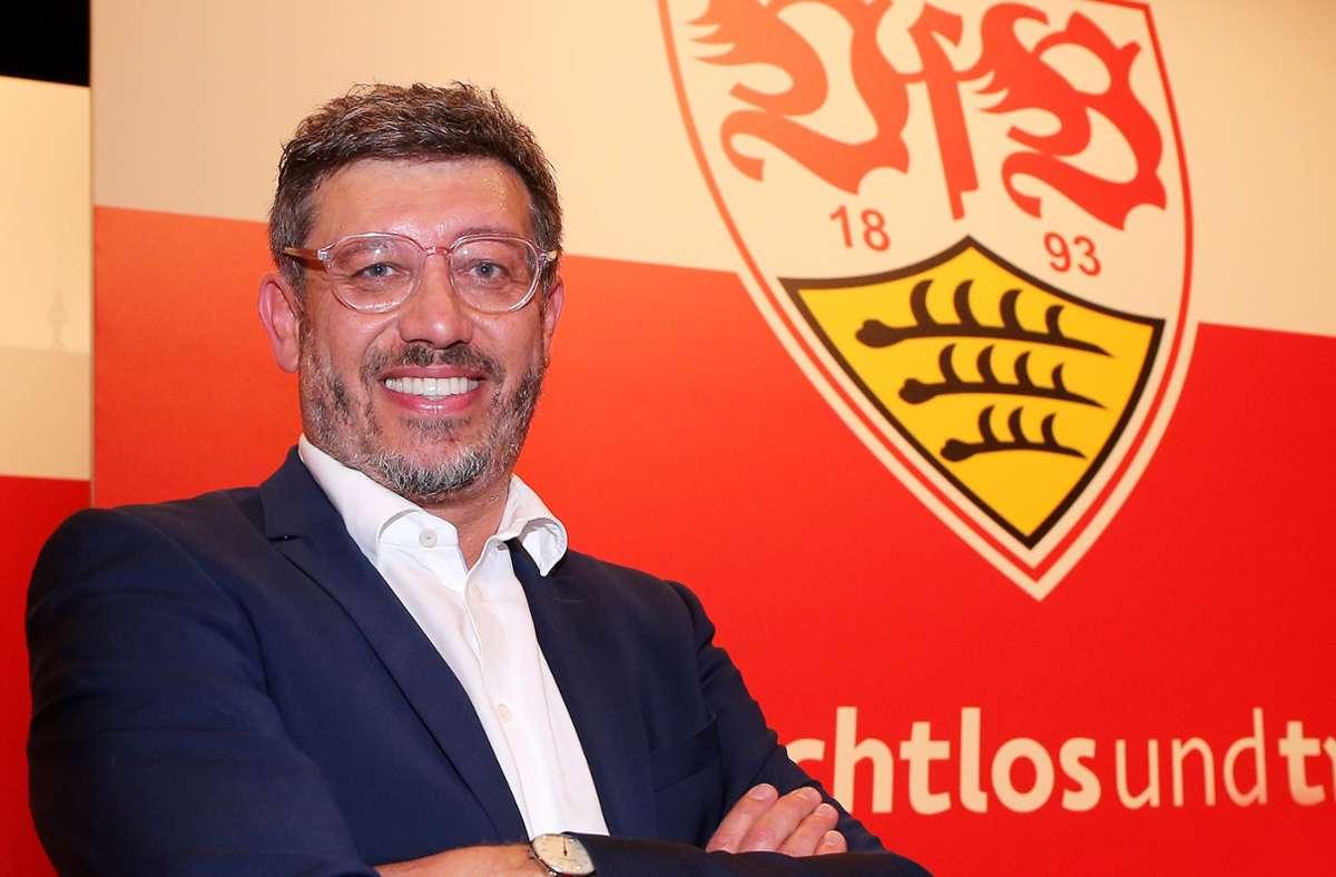 Claus Vogt möchte gerne Präsident des VfB bleiben – und die Mitgliederversammlung verschieben. Foto: Baumann